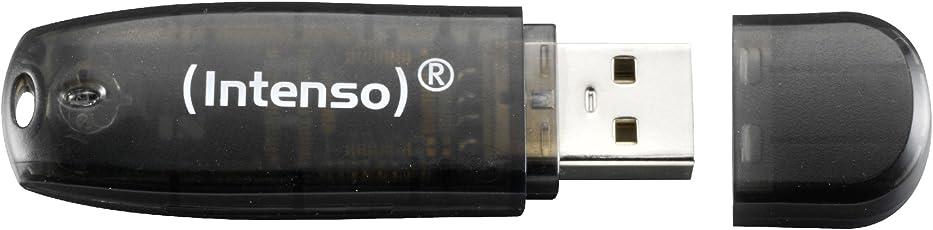 Intenso Rainbow Line 16 GB USB-Stick USB 2.0 schwarz