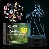 Luz De Noche Led 3D Harry Styles Lámpara De Regalo para Fanáticos Decoración De Dormitorio Luz Led Sensor Táctil Que Cambia D