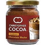 Christopher Cocoa Hazelnut Chocolate Mocha (Instant Coffee Cocoa, No Sugar, Vegan), 50 g