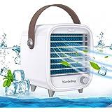 Nicehedtop 4 In 1 Mini Condizionatore Portatile USB,Ventilatore Climatizzatore Umidificatore,Mini Raffreddatore D'Aria Evapor