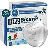 20 Mascherine Protettive FFP2 Certificate CE Made in Italy Mascherine sigillate singolarmente