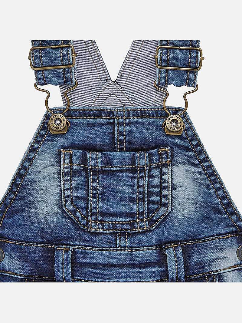 Mayoral, Peto para bebé niño - 1688, Azul 3