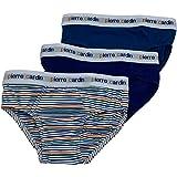 Pierre Cardin Slip Bimbo in Cotone (Confezione da 3 Pezzi) Biancheria Intima Bambino Mutande Elasticizzate per Bambini. Color
