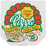 Chupa Chups Candy Pizza Carammelle Gommose Gusto Frutti Assortiti, Ottime da Condividere, 1 Confezione da 400 gr
