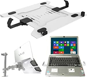 Laptop Halterung Adapterplatte Weiß An Wandhalterung Elektronik