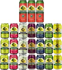 Somersby Cider Mix-Set 4,5% vol. 24 Dosen Watermelon, Citrus, Blueberry, Rhubarb, Apple, Elderflower, Blackberry and Pear inkl. Pfand