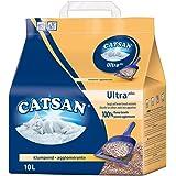 Catsan Ultra Klumpstreu / Extrem saugfähiges Katzenstreu aus feinem Tongranulaten