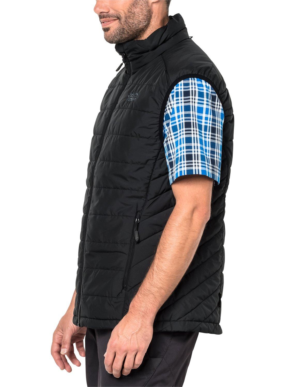 71Pyb75m1kL - Jack Wolfskin Men's Glen Vest Quilted Gilet