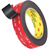 Roseberry Heavy Duty Dubbelzijdige Tape, Montage Waterdichte Schuimband 16FT,0,64 mm Dikte, 24 mm, Waterdichte Montage Tape v