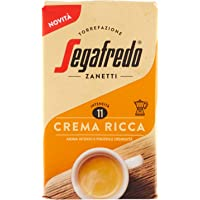 Segafredo Zanetti Caffè Macinato, Linea Le Classiche Crema Ricca, Aroma Intenso e Piacevole Cremosità, 1 Confezione da…