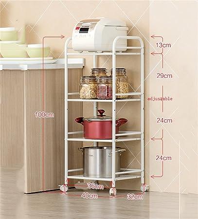 Awesome per cucina a microonde forni a rack scaffali per for Scaffalature metalliche ikea