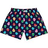 Happy Socks Strawberry Boxer Uomo