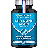 COLLAGENE MARIN - Type 1 & 2 BREVETÉ Pur et Naturel - Vitamines A, C & E Végétales - Nutrimea - Hydratation de la Peau - Prot