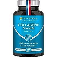 COLLAGENE MARIN - Type 1 & 2 BREVETÉ Pur et Naturel - Vitamines A, C & E Végétales - Nutrimea - Hydratation de la Peau…