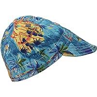CUTICATE Mode Elastic Welding Welder Hat Cap Pure Cotton Flame Retardant - Beach