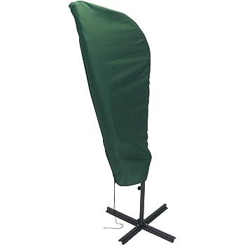 greemotion Schutzhülle für Ampelschirm, wasserabweisende Abdeckplane, aus strapazierfähigem Polyester, für Regenschirme mit einem maximalen Durchmesser von ca. 3 m