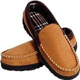 MIXIN Pantofole per Uomo Mocassini Scarpe da casa con Comodo Memory Foam