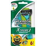 Wilkinson Sword Xtreme 3 Sensitive wegwerpmachine dames, 6 stuks