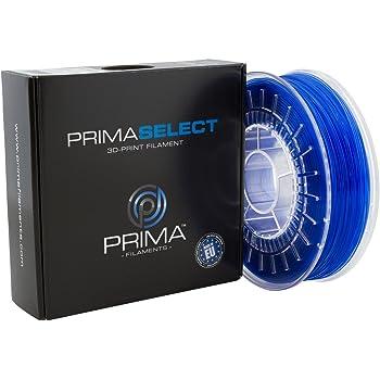 PrimaSelect PETG Filamenti, 1.75 mm, 750 g, Blu Trasparente