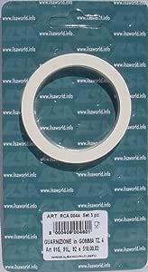 Ilsa 3x Dichtungsring 3 Tassen 65 mm f/ür Espressokocher Turbo Express