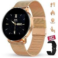 GOKOO Smart Watch 1.3 Inch HD Full Touch Screen Women Men for Android iOS Intelligent Watch IP67 Waterproof Fitness…