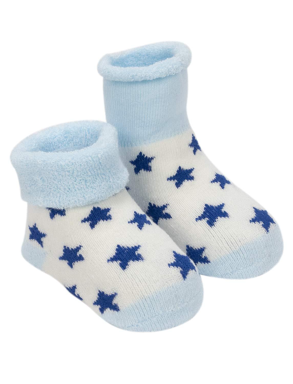 Adorel Calcetines Invierno de Rizo para Bebé Niño Lote de 5 3