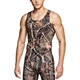 TSLA Men's Athletic Compression Sleeveless Muscle Tank Top, Cool Dry Sports Running Basketball Workout Base Layer