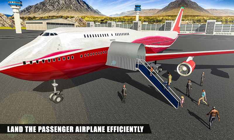 Airplane Landing Simulator 2018 - Airplane Pilot: Amazon in