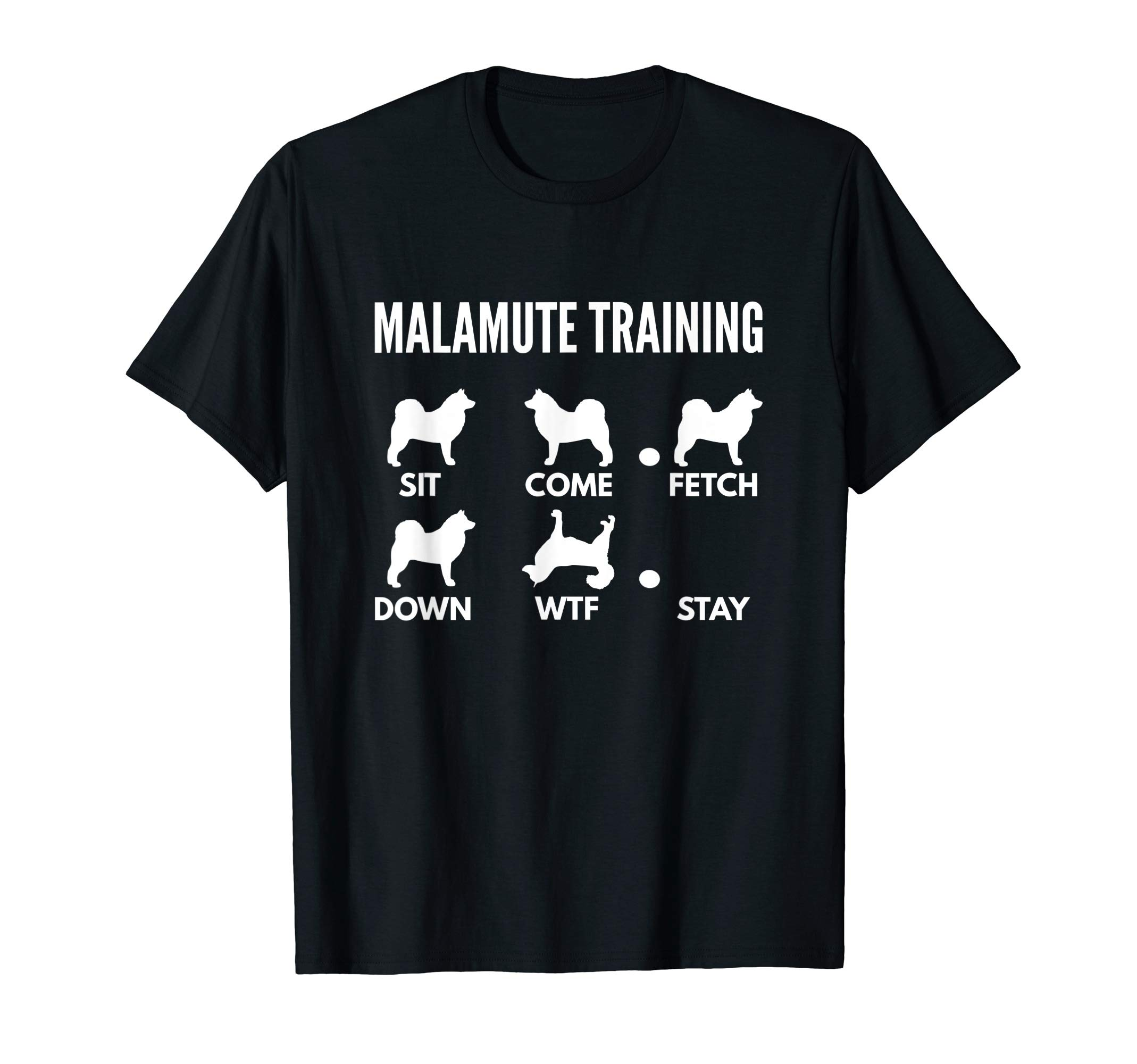 Malamute Training – Alaskan Malamute Tricks T-Shirt