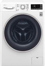LG 8Kg Wash & 5Kg Dry Washer Dryer, White - F4J6TMP0W