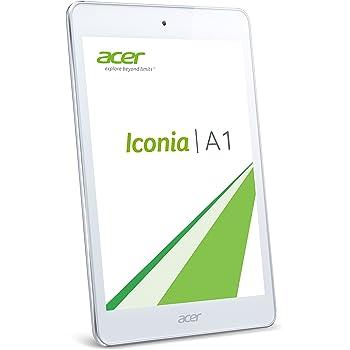 """Acer Iconia A1-830 - Tablet de 7.9"""" (WiFi, Intel Atom, RAM de 1 GB, memoria interna de 16 GB) color blanco"""