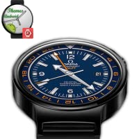 Omega Seamaster GMT Watch-Face Android wear