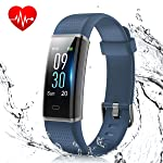 Fitness Band, Muzili Activity Tracker with Heart Rate Monitor, IP68 Waterproof Smart Watch Bracelet Color Screen Sleep...