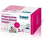 BWT 814564 Magnesium Mineralizer Filtro con Tecnologia Brevettata Confezione 3+1 filtri per Caraffe Filtranti-Prodotto…