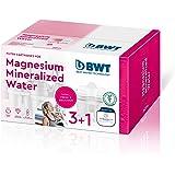 BWT 814564 Magnesium Mineralizer Filtro con Tecnologia Brevettata Confezione 3+1 filtri per Caraffe Filtranti-Prodotto adatto