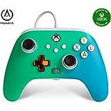 Mando con cable mejorado PowerA para Xbox: en Seafoam Fade