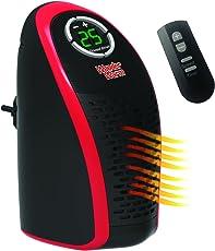 Wonder Warm elektrische 400W Keramik Mini Heizung mit Heiztemperatur von 15 bis 32 Grad für die Steckdose mit Timer und Fernbedienung bekannt aus dem TV von DMC Shop