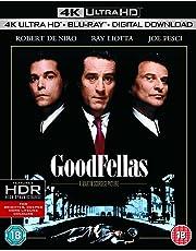 Goodfellas (4K UHD + Blu-ray + Digital Download) (2-Disc Set) (Region Free + Slipcase Packaging + Fully Packaged Import)