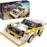 LEGO 76897 SpeedChampions 1985AudiSportQuattroS1 - Jouet de Construction sur Le thème des Voitures avec Figurine de Pilo