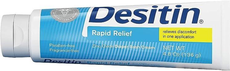 Desitin Rapid Relief 4.8 oz (136 g)