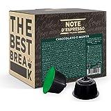 Note d'Espresso - Menthe Chocolat - Capsules Exclusivement Compatibles avec les Machines NESCAFE* DOLCE GUSTO* - 48 caps