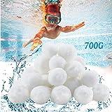Balles Filtrantes 700g,Boules de Filtre Réutilisables de Piscine,Alternative pour 25 kg de Sable,Boules de Filtre de Piscine