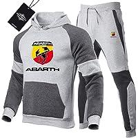 Martin Tute Sportiva Set per Ab-art.h.s Pullover Felpa con Cappuccio e Jogging Pantaloni Uomini e Donne Y. / Grigio/S