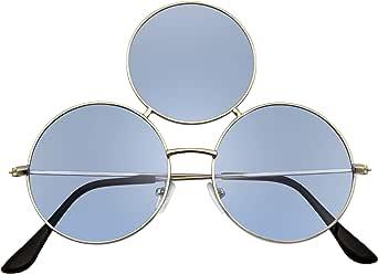 Emblem Eyewear - Occhiali da sole Cerchio Rotondi Triplicare Occhiali da sole