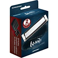 SUZUKI-m-20 manji lP lot de 2–harmonica en c et d low low