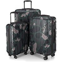 Suitline Koffer in 4 Größen, Trolley-Set Rollkoffer Hartschalen-Koffer Reisekoffer (55 cm, 66 cm, 76 cm) Zwillingsrollen, 15