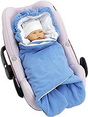 ByBoom® - Einschlagdecke für die Übergangszeit und Sommer für Babyschale, Autokindersitz, z.B. Maxi-Cosi, Römer, für Kinderwagen, Buggy, Babytrage, z.B. Manduca, Babybett