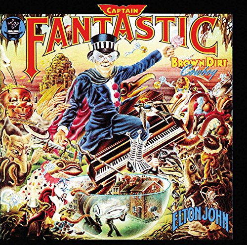 Elton John: Captain Fantastic and the Brown Dirt Cowboy (Audio CD)