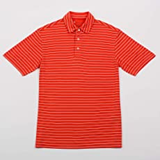 Oxford America Turner Classic Stripe Polo Sun Kissed, Large