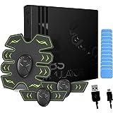 8 Pads Abs Stimulator Buikspiertrainer - USB oplaadbaar - EMS Sixpack trainer voor mannen & vrouwen om thuis buikspieren te t